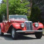 1955 MG TF Convertible # 18482