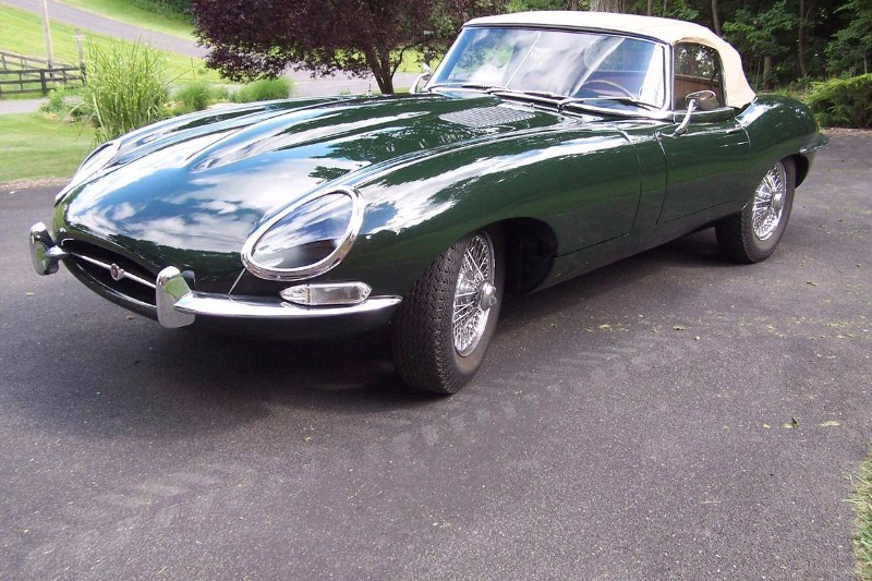 1966 Jaguar XKE Series I 4.2 Roadster # 21789