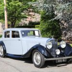​ 1937 Bentley 3.5 Litre Thrupp & Maberly Sport Saloon #21857