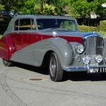 1951 Bentley Park Ward Coupe RHD # 21863
