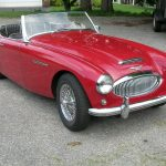 1962 Austin-Healey 3000 MKII BT7 Tri-Carb # 22569