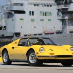 1973 Ferrari 246GTS Dino Fly Yellow California Car Out of 25 Year Ownership # 22897
