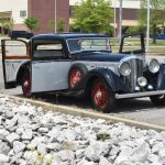 1936 Bentley 4 1/4 Liter Pillarless Sports Saloon #22917
