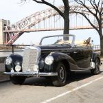# 23241  1951 Mercedes-Benz 220A Cabriolet with Luggage