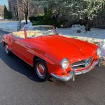 # 23617 1962 Mercedes 190SL Red