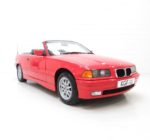 An Exceptional BMW E36 318i Convertible with Just 35,167 Miles and One Owner.