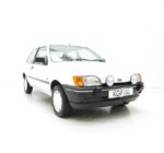 An Exceptional Ford Fiesta Mk3 1.6S with an Incredible 8,527 Miles from New.