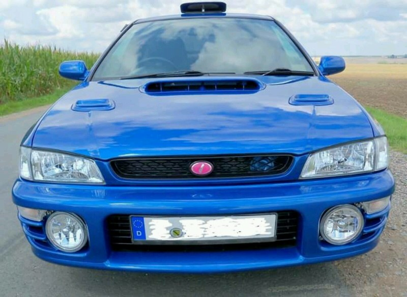 the classic car finder subaru impreza sti wrx type ra very limited 555. Black Bedroom Furniture Sets. Home Design Ideas