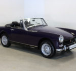 A completely restored Heritage Shell 1974 MG Midget MK III (1275cc)