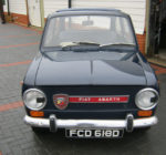1966 FIAT 850 ABARTH OT BY RADBOURNE RACING. GREAT CAR. ONLY 31424 MILES FROM NEW.
