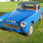 1977 MG MIDGET 1500. DE-BUMPERED AND AGE RELATED PLATE. GREAT LOOKING CAR