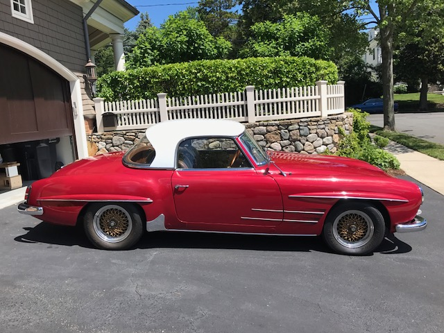 1962 Mercedes-Benz 190SL # 21886