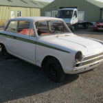 1966 FORD CORTINA Mk1 2 DOOR LHD ROLLING SHELL. IDEAL DONOR SHELL FOR LOTUS OR GT RECREATION.
