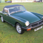 1980 MG MIDGET 1500. STUNNING LITTLE SPORTS CAR IN BRITISH RACING GREEN.