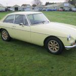 1973 MGB GT IN PALE PRIMROSE. HERITAGE SHELL CAR.