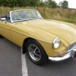 MGB ROADSTER 1972 – FULL REPAINT AUGUST 2016 – STUNNING