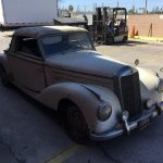 # 23090 This 1953 Mercedes-Benz 220A Cabriolet