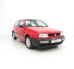 An Unrivalled VW Golf Mk3 Driver 3dr with One Owner and 25,511 Miles