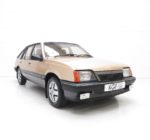 A Virtually Extinct Vauxhall Cavalier Mk2 SRi with just 37,394 Miles and Two Owners